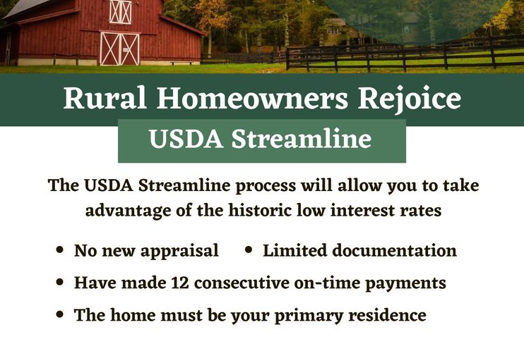 KENTUCKY USDA MORTGAGE STREAMLINE REFIANCE