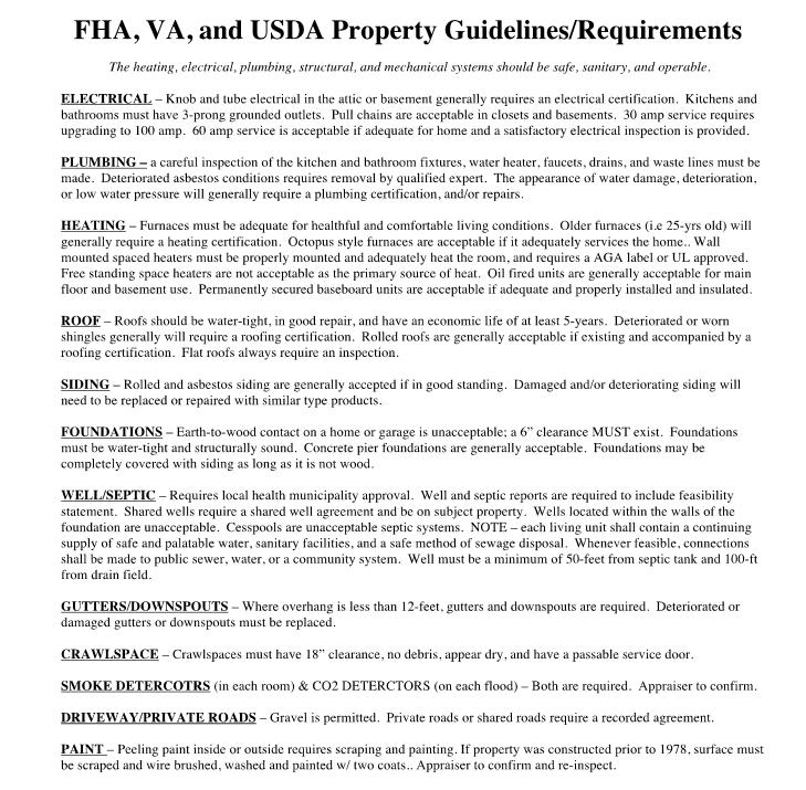 Kentucky Appraisal for FHA, VA, USDA and Fannie Mae HomeLoans