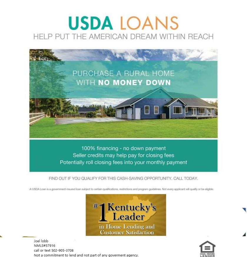 Kentucky USDA Loans | Rural Housing Loans Kentucky